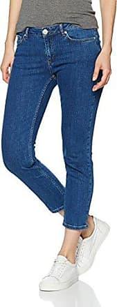 Nobi Jeans Cropped, Pantalon Jambe Droite Femme, Blau (Blue Denim 5997), 42 (Taille Fabricant: X-Large)Second Female