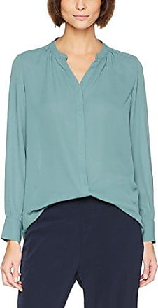Slfdynella LS Shirt, Blouse Femme, Bleu (Surf The Web), 38 (Taille Fabricant: 36)Selected