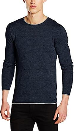 SHHounds crew neck I-suéter Hombre Mehrfarbig (Nude/Twist) Small Selected MiXb0B