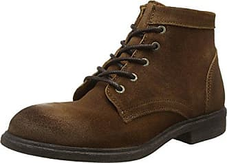 Shdbaxter Leather Shoe Noos, Scarpe Stringate Derby Uomo, Marrone (Cognac), 41 EU Selected