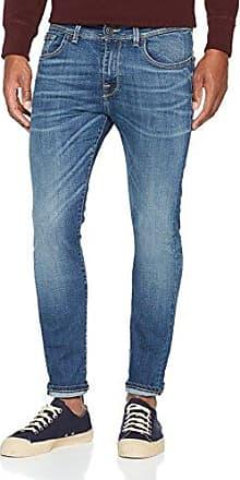 Azul Shnslimleon 1435 St Jeans Slim Vaqueros Para Sts Dark Hombre F8fUwq