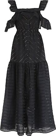 Robe Pour Les Femmes, Cocktail Soirée En Vente, Noir, Coton, 2017, Royaume-uni 10 - 8 Nous - Eu 42 Uk 12 - 10 Nous - Eu 44 Auto Portrait