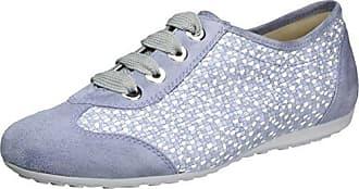 Nele, Zapatillas de Cordones para Mujer, Color Azul (Aqua), 36 1/3 EU Semler