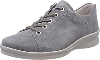 Semler Ulli, Zapatos de Cordones Brogue para Mujer, Negro (001 Schwarz), 40 2/3 EU