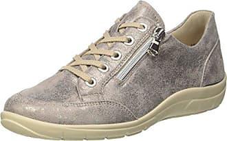 Michelle, Zapatos de Cordones Brogue para Mujer, Beige (Panna 028), 42 EU Semler