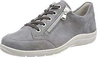 Michelle, Zapatos de Cordones Brogue para Mujer, Negro (001 Schwarz), 40 EU Semler