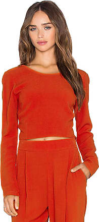 Gigi Top in Red Sen From China vfoQUgoLX