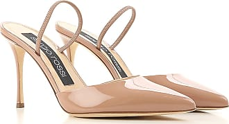 Sandals for Women On Sale, Gold Rose, Leather, 2017, US 5 (EU 36) Sergio Rossi