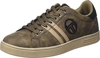 Sergio Tacchini STM723530, Sneakers Basses Homme - Marron - Marron (Antilope 04), 43 EU EU