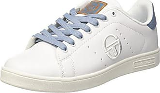 Sergio Tacchini Grand Mix Torino, Chaussures Pour Hommes, Blanc (blanc / Rouge 02), 44 Eu