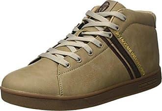 Sergio Tacchini STM723530, Sneakers Basses Homme - Marron - Marron (Whisper 03), 44 EU EU