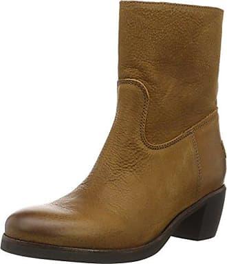 Womens Amsterdam Slouch Boots, Grau (Dark Grey/Heavy Grain Leather) Shabbies Amsterdam