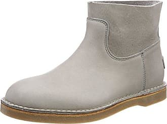 Womens Amsterdam Slouch Boots, Grau (Dark Grey/Heavy Grain Leather) Shabbies Amsterdam