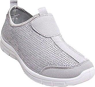 Damen Sneaker, grau - grau - Größe: 35.5 Shelikes