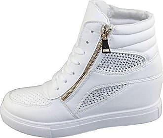 Damen Sneaker, Gunmetal - Größe: 42 Shelikes