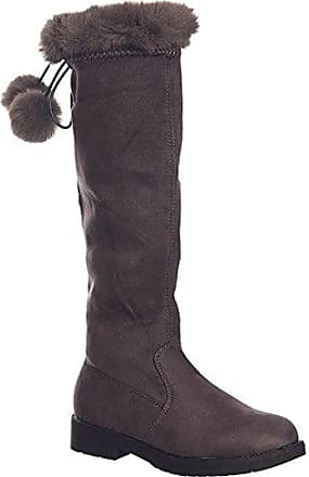 SheLikes, Damen Stiefel & Stiefeletten , schwarz - schwarz - Größe: 35.5