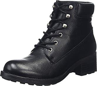 Shoe Biz Hall, Botines Femme, Noir (Suede Black), 39 EU