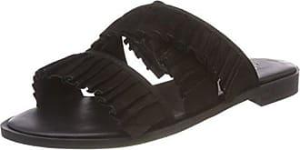 Shoe Biz Halida, Chaussons Mules Femme, Blanc Cassé (Nubuck Creme), 38 EU