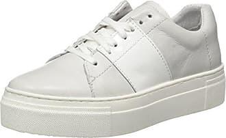 Hanne, Sneakers Basses Femme, Blanc (Velvet White/Patent White), 38 EUShoe Biz