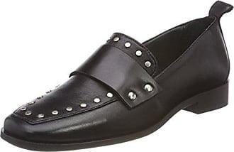 Shoe Biz Hafdis, Mocassins Femme, Gris (Dark Grey), 37 EU