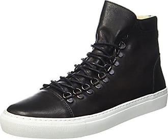Shoe the Bear Village High L, Baskets Montantes Homme, Noir (110 noir), 45 EU