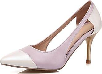 SHOWHOW Damen Eleganat Geschlossen Gradient Low Top High Heels Pumps Rot 38 EU rneAkZU