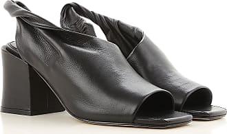 Sandals Heeled Womens On Sale, Black, Leather, 2017, 4.5 5.5 7.5 Sigerson Morrison
