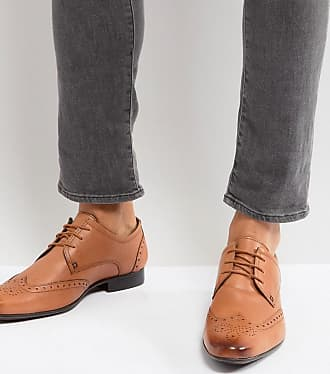 Zapatos Oxford de cuero tostado de Silver Street Silver Street London lqtCzdm