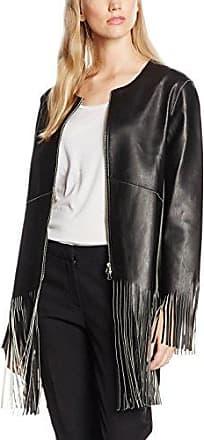 Silvian Heach Jacket Bocco, Chaqueta para Mujer, Negro, XXS