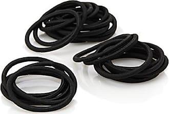 Simons Black telephone cord elastics Set of 3 2xBehESW