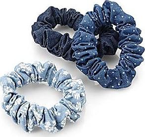 Simons Patterned scrunchies Set of 3 7AubLQXG
