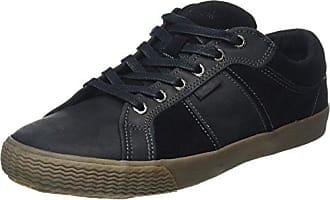Simple Damen Satire Sneakers, Schwarz (Black 001), 41 EU (US 10)