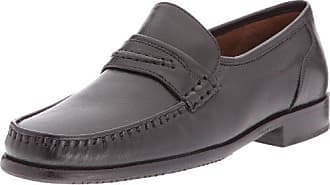 Sioux 26260 - Zapatos clásicos de cuero para hombre, color negro, talla 38.5