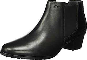 Barbora, Zapatillas de Estar por Casa para Mujer, Negro - Schwarz (Asphalt-Schwarz), EU 39.5 Sioux