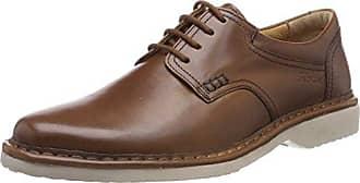 Sioux Kalias, Zapatos de Cordones Derby para Hombre, Negro (Schwarz 001), 46 EU