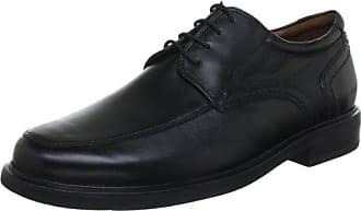 Sioux Kallon - Zapatos con Cordones de Cuero Hombre, Color Negro, Talla 40
