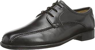 Sioux 20201 - Zapatos clásicos de cuero para hombre, color negro, talla 44.5