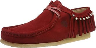 Ellen, Mocassins Femme, Rot (Red), 40 EU (6 6 UK) Padders