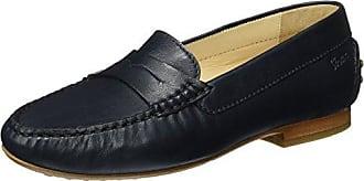 Grash.-D161-03, Mocassins (Loafers) Femme - Grau (Linen), 38 EU (5 UK)Sioux