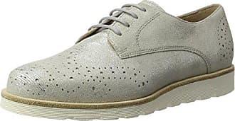 Sioux Enosch, Zapatos de Cordones Brogue para Hombre, Gris (Cenere 002), 46 EU