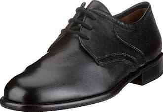 Sioux 28230 - Zapatos de cordones de cuero para hombre, color negro, talla 44.5 EU (10 Herren UK)