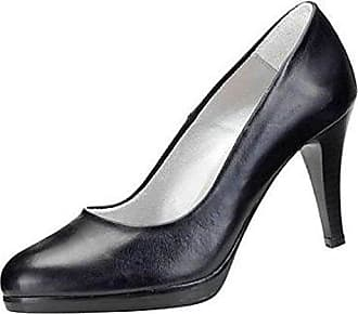 Lackleder-Velourleder-Pumps schwarz Gr. 37 David Braun tKWxRp