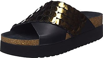 Sixtyseven 77402, Chaussures Habillées Femme, Multicolor (Argent/Noir), 36 EUSixtyseven