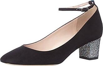 Quinn, Zapatos de Talón Abierto para Mujer, Multicolor (Black/Scintillate), 37.5 EU SJP by Sarah Jessica Parker