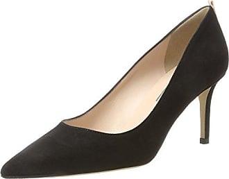 Ania, Zapatos de Tacón para Mujer, Negro (Black Velvet/Bordeaux Velvet), 36 EU SJP by Sarah Jessica Parker
