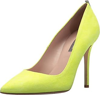 Young At Heart Peep Toes, Zapatos de Tacón con Punta Abierta para Mujer, Amarillo (Lemon a), 41 EU Joe Browns