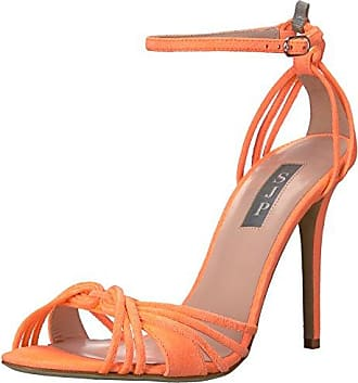 Cambridge - Zapatos para mujer, Naranja, 36 Feud London