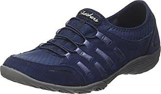 Skechers GOrun Ride Supreme - Zapatillas de material sintético para niños, color azul marino, talla 27.5