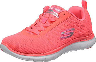 Equalizer Vivid Dream, Damen Walkingschuhe, Rosa (PKMT), 40 EU Skechers