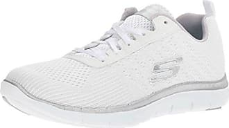 Flex Appeal 2.0-Newsmaker, Sneaker Basse Donna, Bianco (White), 40 EU Skechers
